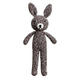 Mini Bunny  Rattle - Speckled