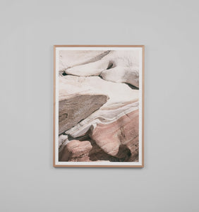 Framed Print - Stone Formation