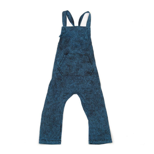 Children Of The Tribe - Stonewashed Teal Overalls
