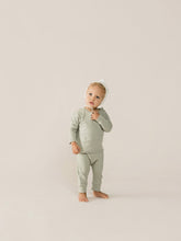 Load image into Gallery viewer, Quincy Mae - Long Sleeve Baby Tee- Sage