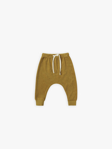 Quincy Mae Terry Cloth Sweatpants - Ocre
