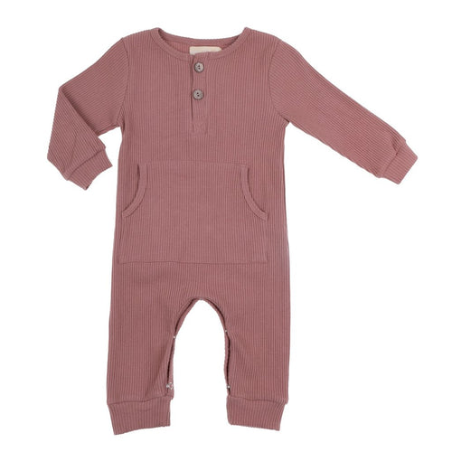 Bonnie & Harlo Winter Romper - Dusty Rust