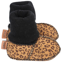 Load image into Gallery viewer, Kip & Co - Leopard Baby Bootie