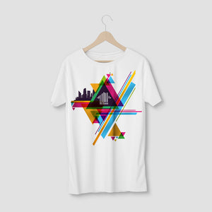 MI-HOUSE GRAPHIC TEE - WHITE
