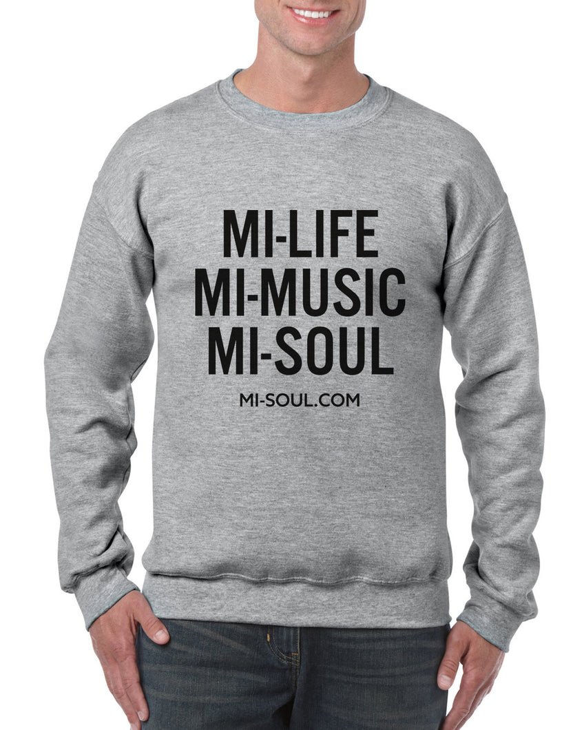 LIMITED EDITION MI-LIFE UNISEX SWEATSHIRT - GREY