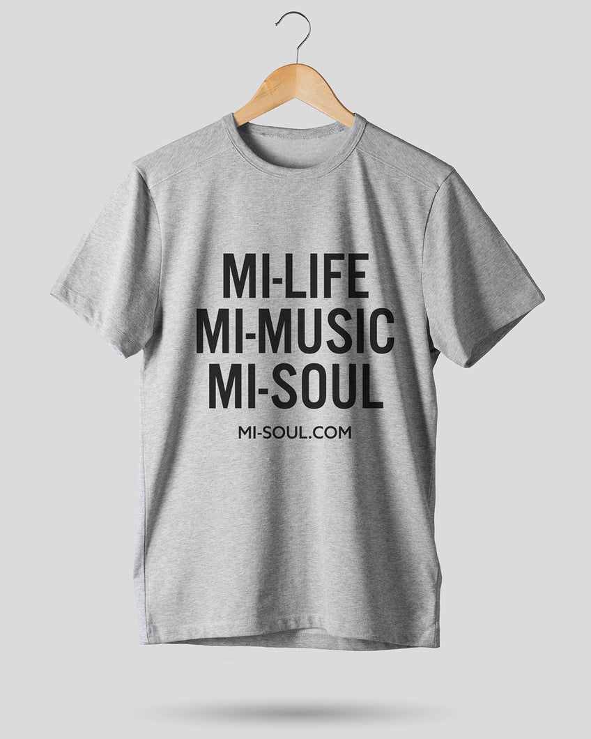 LIMITED EDITION MI-LIFE UNISEX TEE - GREY