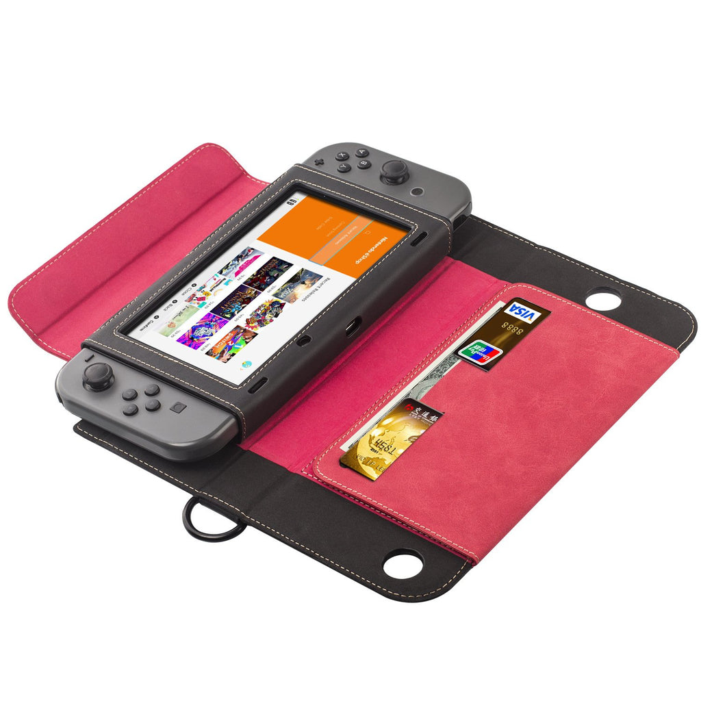 Premium Leather Case For Nintendo Switch