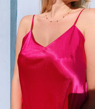 Load image into Gallery viewer, Pink Satin Slip