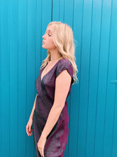 Load image into Gallery viewer, Wrap Dress In Petrol Purple