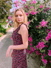 Load image into Gallery viewer, Frilly Midi Dress In Floral Print