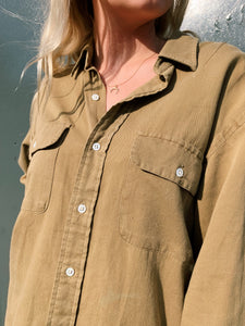 Pocket Shirt In Olive Green