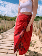 Load image into Gallery viewer, Wrap Around Tie Dye Skirt