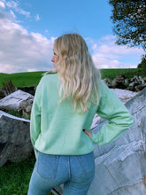 Load image into Gallery viewer, Mint Green Sweater