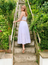 Load image into Gallery viewer, Tierd Maxi Skirt In White
