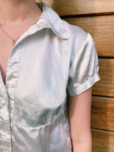 Load image into Gallery viewer, Short Sleeve Silk Blouse