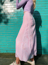 Load image into Gallery viewer, Maxi Skirt in Lilac Floral Print