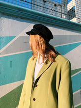 Load image into Gallery viewer, Olive Green Longline Blazer