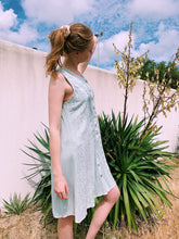 Load image into Gallery viewer, Embroidered Dress In Sage Green