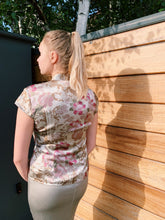 Load image into Gallery viewer, Silk Chinoiserie Blouse In Print