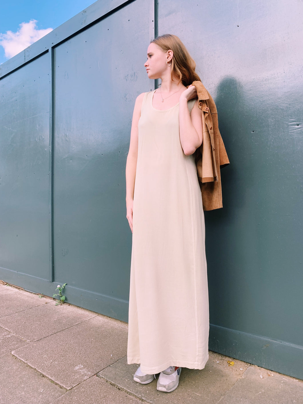 Maxi Dress In Beige