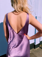 Load image into Gallery viewer, Lilac Maxi Satin Slip