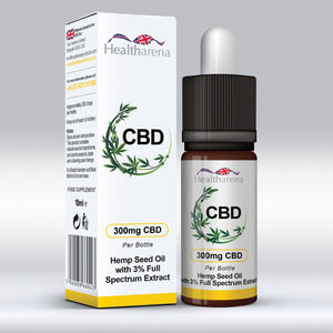 Healtharena CBD Oil 300mg
