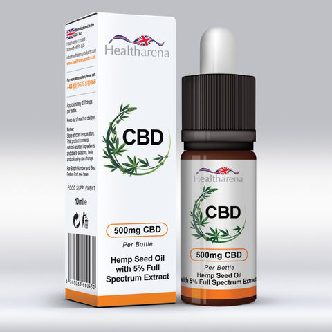 Healtharena CBD Oil 500mg