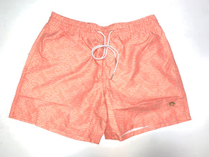 QoQí swim trunk wave orange