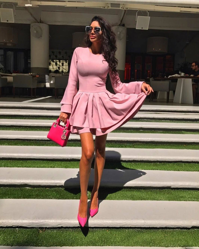 Posie Blush Mini Dress