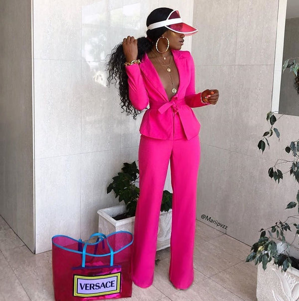 Sam Pink Two Piece Set