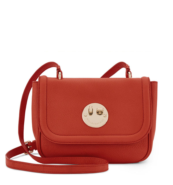 Hill & Friends Happy Bag in Hot Red