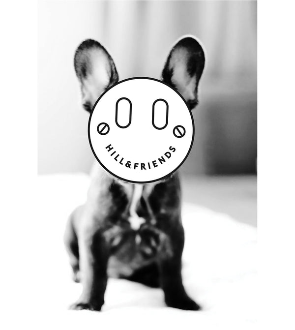 Hill & Friends French Bulldog Printed T-Shirt