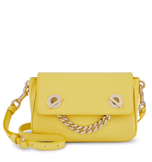 Hill & Friends Creature Chain Smile Bag Banana Yellow