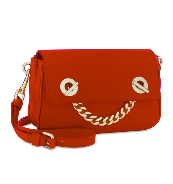 Hill & Friends Red Chain Smile Creature Bag