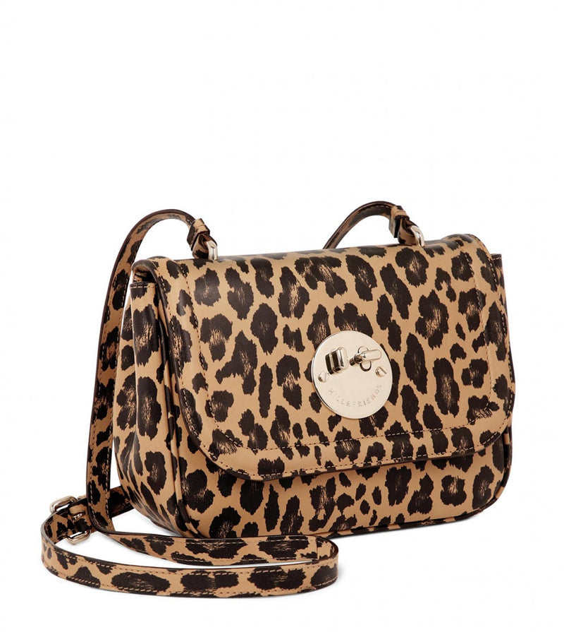 Leopard Print Shoulder Bag Happy Bag