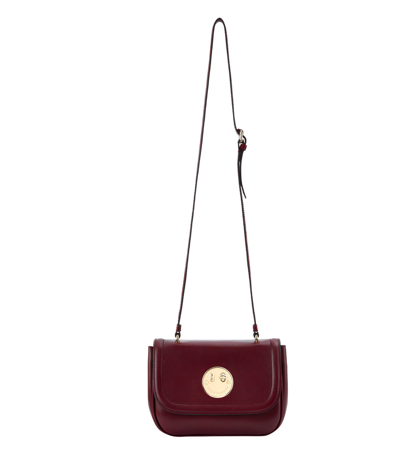 Hill & Friends Oxblood Happy Bag Strap Length