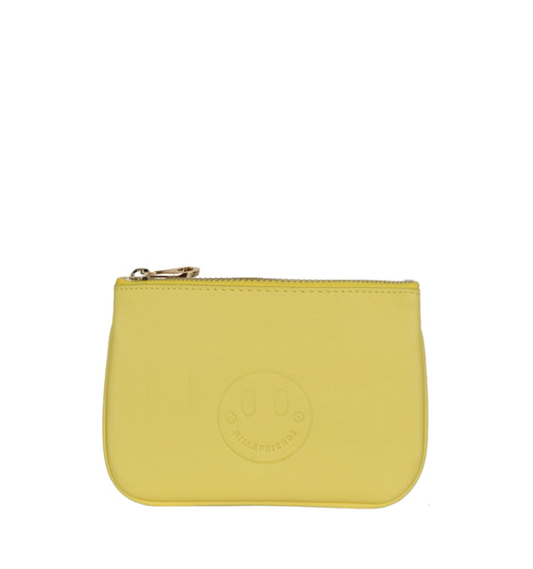 Hill & Friends Happy Mini Pouch Yellow