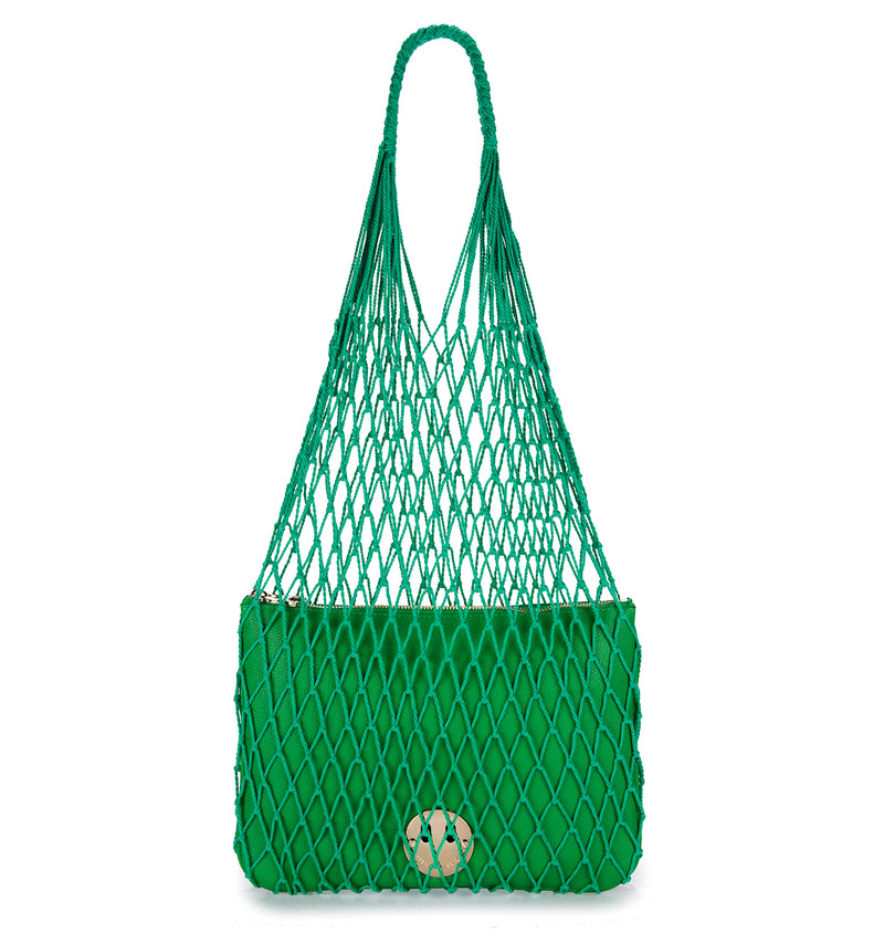 STRING SHOPPER WITH HAPPY POUCH - Hill and Friends