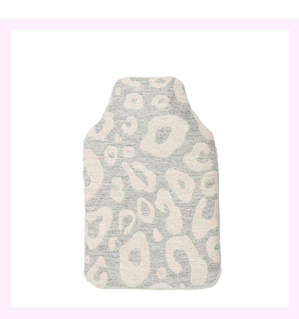 HAMILTON SPOT HOT WATER BOTTLE LINEN ON GREY