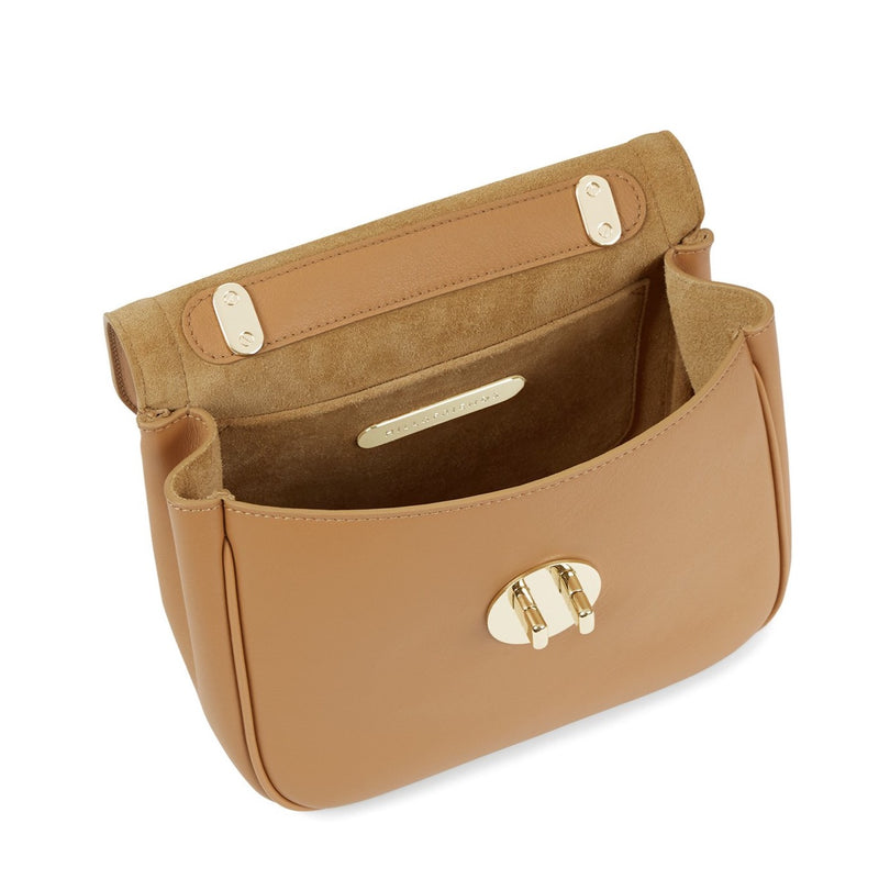 Hill & Friends Toffee Brown Happy Bag Interior
