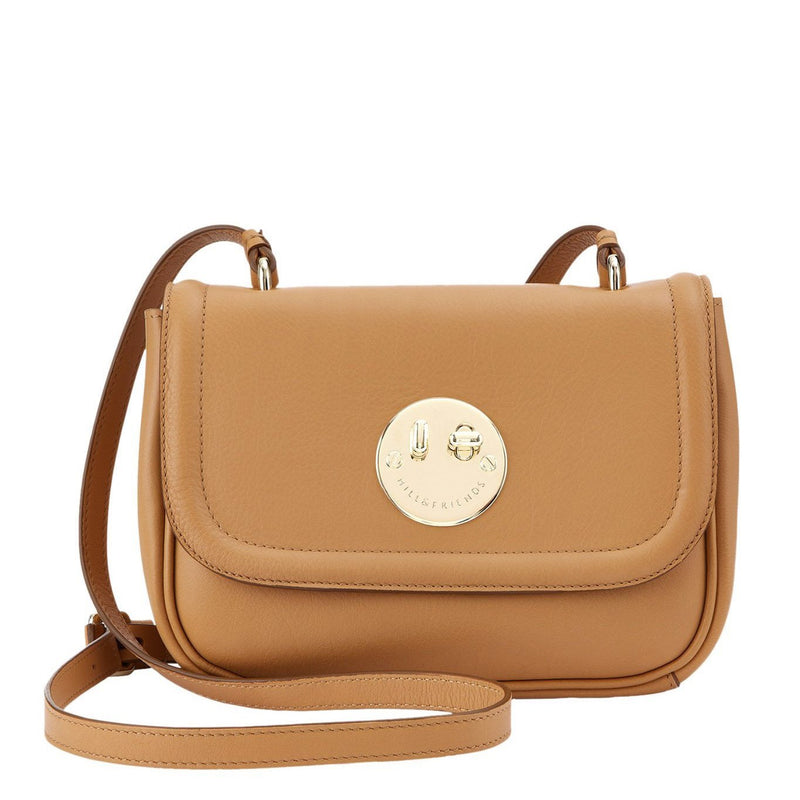 Hill & Friends Toffee Brown Happy Bag