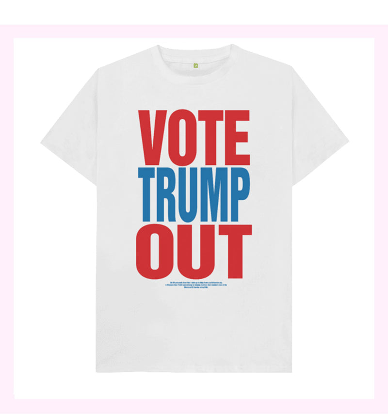 Vote Trump Out Printed T-Shirt