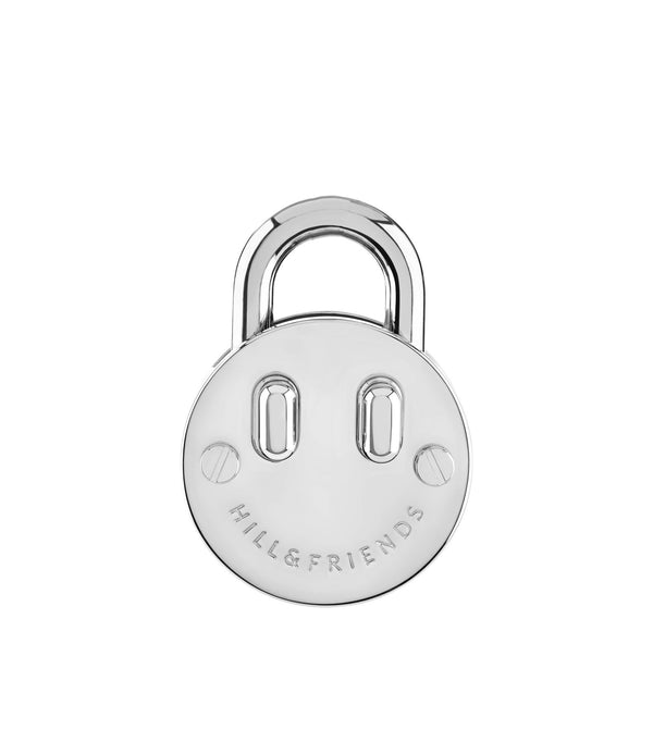 SMALL FRIENDLY PADLOCK KEYRING