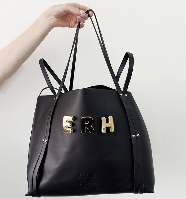 CUSTOMISABLE ALPHABET HEPWORTH TOTE - Hill and Friends