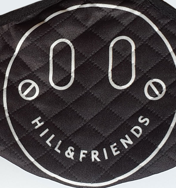 Happy Quilted Face Covering - Hill and Friends