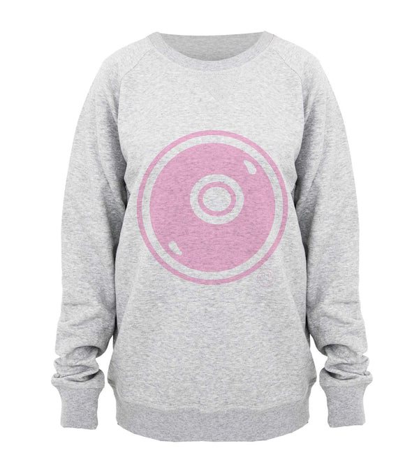 Hill & Friends Alphabet Printed Sweatshirt in Pink