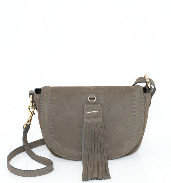 TASSEL TINY SADDLE BAG - Hill and Friends