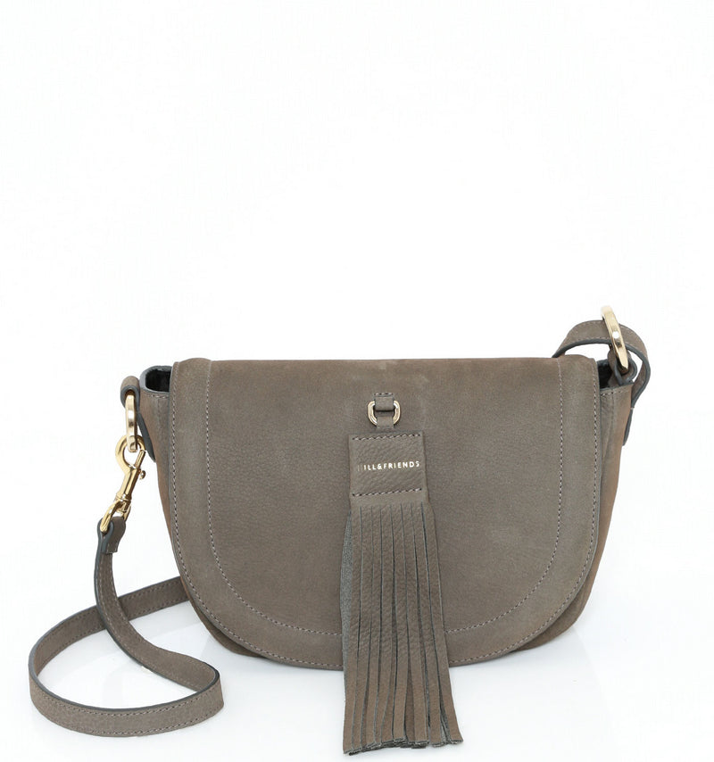 TASSEL TINY SADDLE BAG