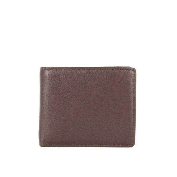 Colson Slim Bifold Leather  Wallet with Coin Pouch