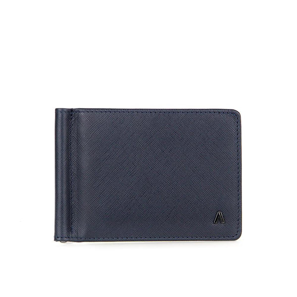 Fullerton Leather Wallet with Money Clip